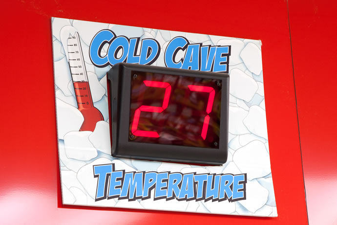 Our goal is 28 degrees or colder all the time!